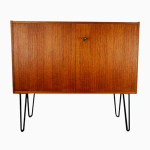 Teak Sideboard with Hairpin Legs from Omnia Hilker, 1960s
