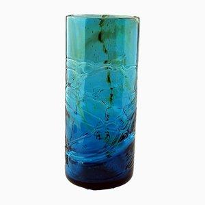 Vaso Maltese in vetro di Michael Harris, anni '70