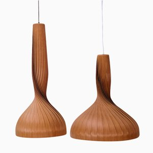 Vintage Pendant Lamps by Hans-Agne Jakobsson for Markaryd, Set of 2