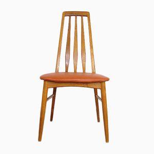 Vintage Danish Eva Teak Chairs from Koefoeds, Set of 6