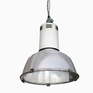 Vintage Industrial Ceiling Lamp from Siemens, 1970s
