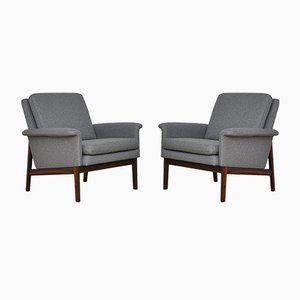 Jupiter Armchairs by Finn Juhl for France & Søn, 1960s, Set of 2