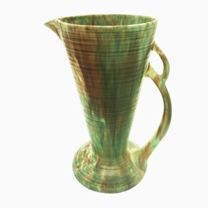 British Trumpet Vase or Jug from Wadeheath, 1920s