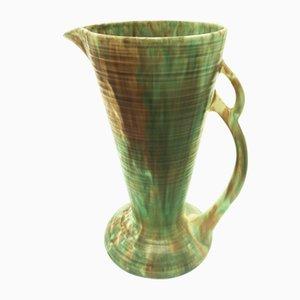 Trompetenförmige britische Vase oder Krug von Wadeheath, 1920er