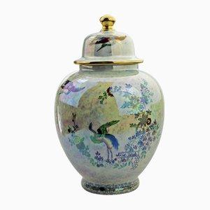 Glänzende britische Vase von A.G. Harley Jones für Wilton Ware, 1923