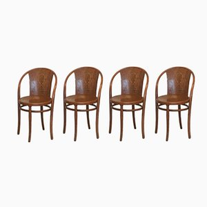 Chaises No.47 de Thonet, 1900s, Set de 4