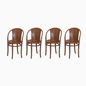 Nr.47 Stühle von Thonet, 1900er, 4er Set