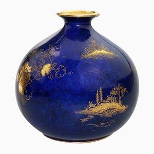 Britische Vase von A G Harley Jones für Wilton Ware, 1923