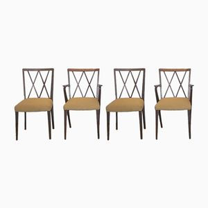 Poly Z Dining Chairs by A.A. Patijn for Zijlstra Joure, 1950s, Set of 4