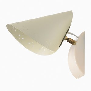 Vintage ND44 Wall Light by Louis Kalff for Philips, 1950s