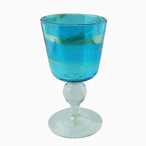 Maltese Goblet from Mdina Glass, 1975