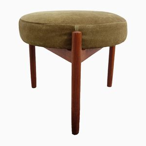 Danish Teak Ottoman by Hugo Frandsen for Spøttrup, 1960s