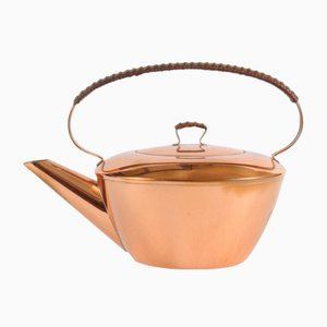 Mid-Century Copper Teapot from Mussbach Metall, 1960s
