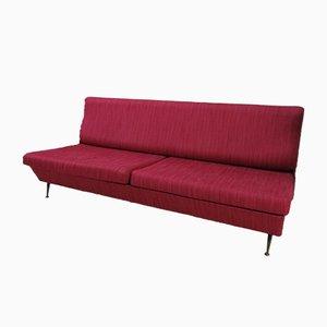 Italian Fabric Sofa, 1950s