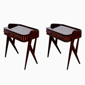 Nightstands by Ico Parisi, 1950s, Set of 2