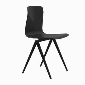 Schwarzer Vintage S19 Stuhl von Galvanitas