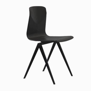 Vintage S19 Chair in Black from Galvanitas