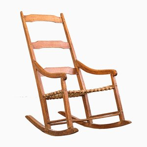 Small Antique Canadian Rocking Chair