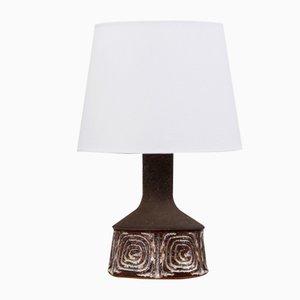 Lámpara de mesa danesa Mid-Century de cerámica de Jette Hellerø para Axella