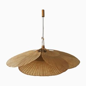 Uchiwa Fan Ceiling Light by Ingo Maurer for Design M, 1970s