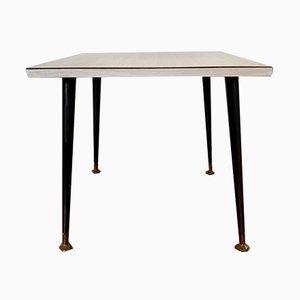 Tavolino da caffè quadrato vintage a Formica