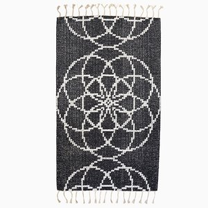 Seed of Life II Hand Woven Rug by Jacqueline James