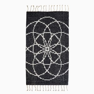 Seed of Life I Hand Woven Rug by Jacqueline James