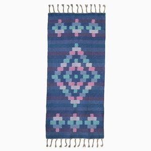 Handgefärbter und handgewebter Teppich von Jacqueline James