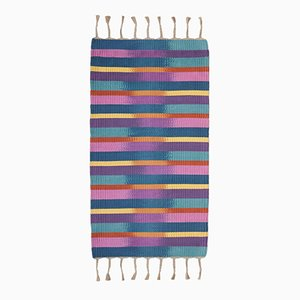 Hand Dyed and Woven Rug by Jacqueline James