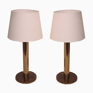 Danish Table Lamps, 1960s, Set of 2