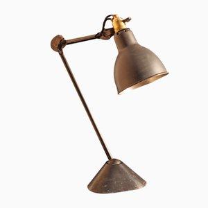 Lámpara de mesa modelo 205 de Bernard-Albin Gras para Ravel Clamart, años 30