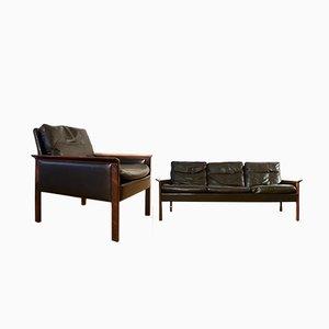 Danish Sofa & Chair by Hans Olsen for CS Møbelfabrik, 1960s