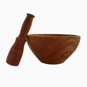 Mörser und Stößel aus Holz von Jerónimo Roldán, 2018
