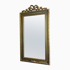 Specchio in legno intagliato di Deknudt, anni '70