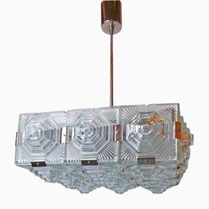 Lampada da soffitto vintage di Kamenický Šenov, 1972