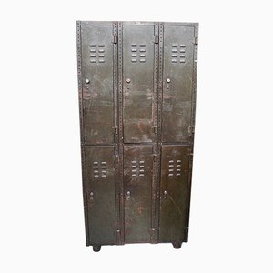 Military Locker from SteelAge, 1900s