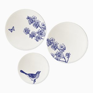Miroirs Composition Prune par BiCA-Good Morning Design, Set de 3