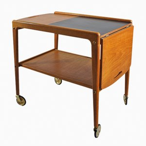 Thea Serving Trolley by Yngve Ekström for Källemo, 1950s