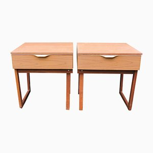 Mid-Century Nightstands from Europa, Set of 2