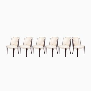 Vintage Dining Chairs, 1940s, Set of 6