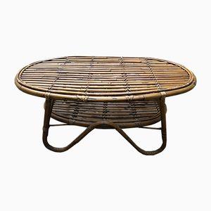 Bamboo Coffee Table, 1960s