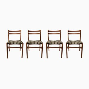 Mid-Century Dining Chairs, 1970s, Set of 4