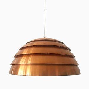 Lampe à Suspension Ruche en Cuivre par Hans-Agne Jakobsson, 1960s