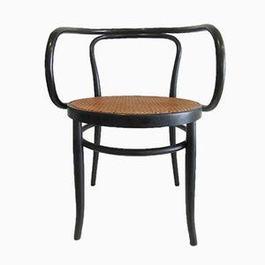 Mid-Century Black Bentwood Chair
