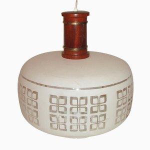 Lámpara colgante vintage, años 60