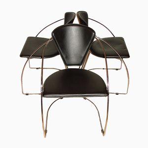 Chaises de Arrben, 1980s, Set de 3