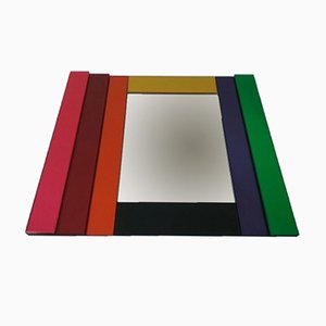 Dioniso No. 5 Mirror by Sottssas Ettore for Glas Italia, 1980s