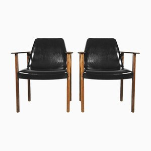 Mid-Century Chairs by Sven Ivar Dysthe for Dokka Møbler, 1960s, Set of 2