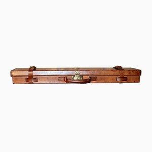 Étui pour Fusil de Chasse Antique en Cuir de Holland & Holland