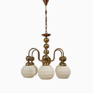 Lámpara colgante vintage de Kamenicky Šenov, años 50